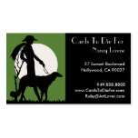 Theresa in Green - Business Cards