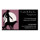 Theresa in Rose - Business Cards