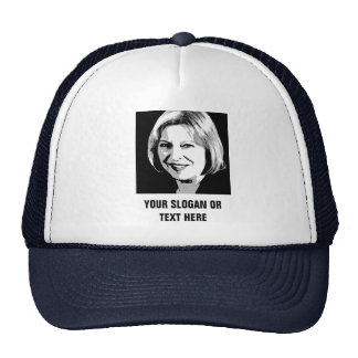 Theresa May Face Icon - Trucker Hat
