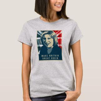 Theresa May Great Again Poster - T-Shirt