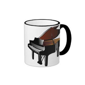TheresaKnott_piano, TheresaKnott_piano Taza A Dos Colores