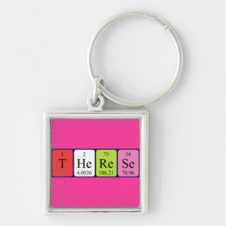 Therese periodic table name keyring