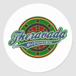 Therevada Buddhism Stickers
