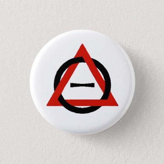 Therian Symbol Pinback Button