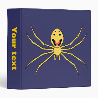 Theridion grallator AKA Happy Face Spider 3 Ring Binder