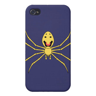 Theridion grallator AKA Happy Face Spider Cover For iPhone 4