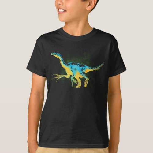 Therizinosaurus Dark T_Shirt