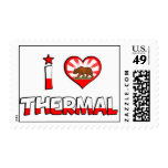 Thermal, CA Postage Stamps