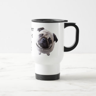 """Thermal cup """"pug """""""