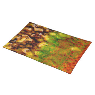 Thermal ecosystem cloth placemat