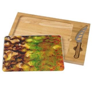 Thermal ecosystem rectangular cheeseboard