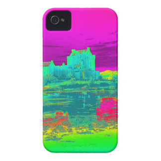 Thermal Eilean Donan Castle iPhone 4 Case-Mate Case