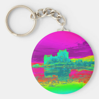 Thermal Eilean Donan Castle Keychain