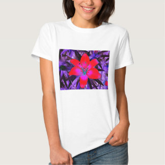 Thermal Flower T-shirt