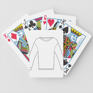 Thermal Long Sleeve Shirt Bicycle Playing Cards