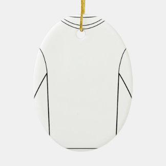 Thermal Long Sleeve Shirt Ceramic Ornament