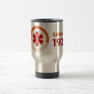 Thermal mug logomarca SAMU 192