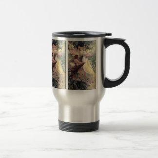 Thermal Mug:  Mucha - Spirit of Spring Travel Mug