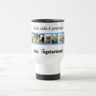 Thermal mug Vegatariana