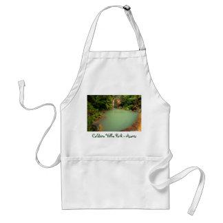 Thermal natural pool adult apron