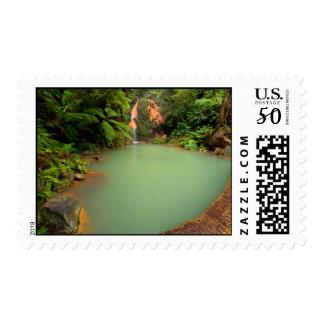 Thermal natural pool postage