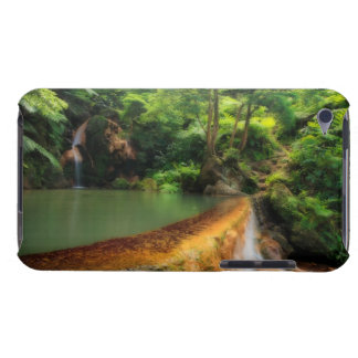 Thermal pool in the forest iPod touch cover