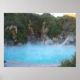Thermal Pool - New Zealand Print