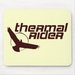 Mousepad with Thermal Rider design