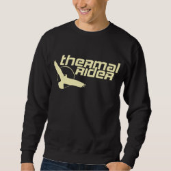 Men's Basic Sweatshirt with Thermal Rider design