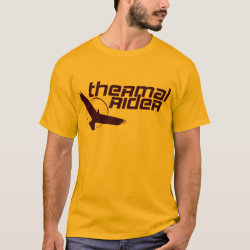 Men's Basic T-Shirt with Thermal Rider design