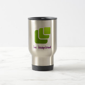 thermo cup with inspirational qoute