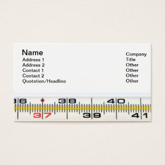 Thermometer Business Card