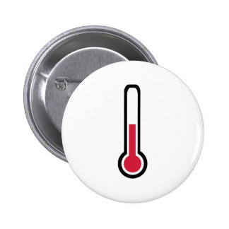 Thermometer Pinback Button