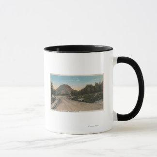 Thermopolis, WY - View of Big Horn Driveway Mug