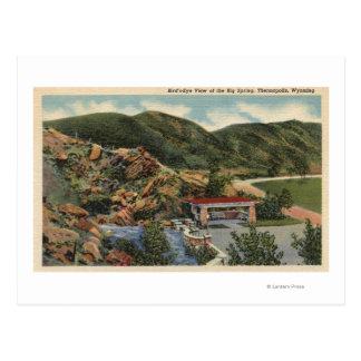 Thermopolis, Wyoming Postcard