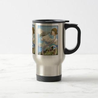 Thermos: Alice in Wonderland Vintage Illustration Mug
