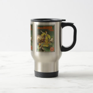 Thermos: Vintage Cycles Horer Bicycle Ad 15 Oz Stainless Steel Travel Mug