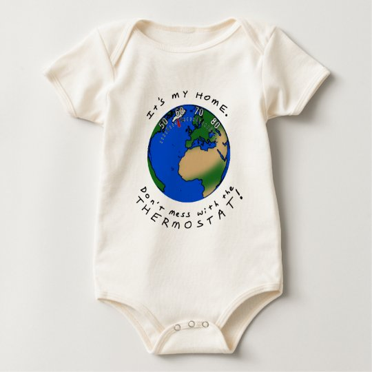 Thermostat Earth Baby Bodysuit