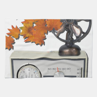 ThermostatHeaterFanLeaves052215 Hand Towel