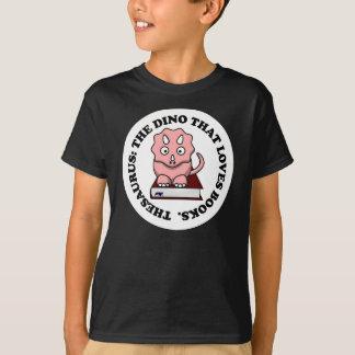 Thesaurus: A Dinosaur Who Loves Reading Books T-Shirt