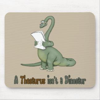 Thesaurus Dinosaur Mouse Pad