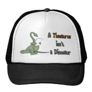 Thesaurus Dinosaur Trucker Hat