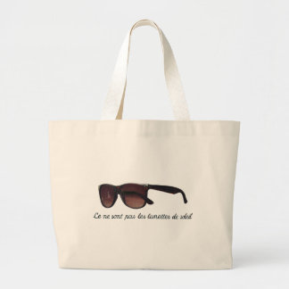 These are note sunglasses large tote bag