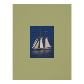 these are the days sailboat flyer