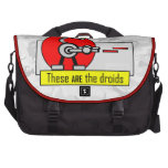 These ARE the droids Laptop Bags