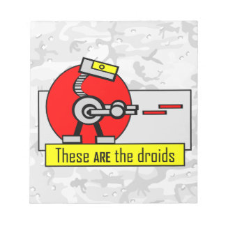 These ARE the droids Scratch Pad