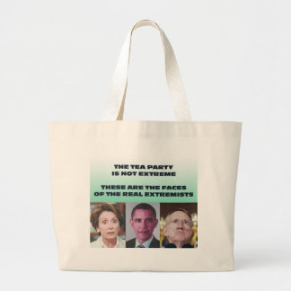 THESE ARE THE EXTREMISTS CANVAS BAG