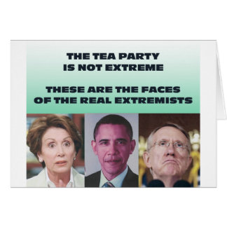 THESE ARE THE EXTREMISTS CARD