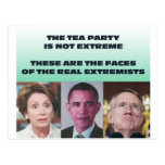 THESE ARE THE EXTREMISTS POST CARD