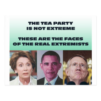 THESE ARE THE EXTREMISTS POSTCARD